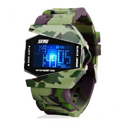 Mannen Camouflage Militaire Stealth Aircraft LED Multi-Function