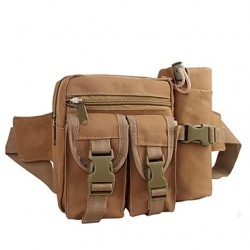 Army Style Belt Pouch Waist Bag Taille Verpakking Met Compact Waterkoker Bag Waterproof Unisex Tby02