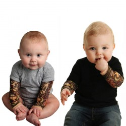 Baby Boys Long Sleeve Funny Bodysuit Romper Jumpsuit Outfits Playsuit