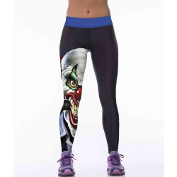 Europa en de Verenigde Staten hot sales market sentiment superhero clown gepersonaliseerde digitaal printen fitness yoga leggings Mevr.