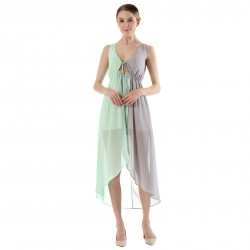 Chiffon Sleeveless Women's Dress
