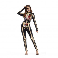 Halloween 3D Skull Muscle Cosplay Jumpsuits