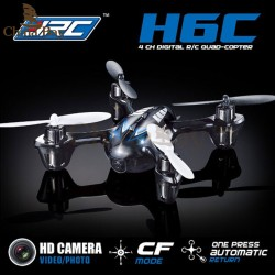 2Mp Mini Drones Met Hd Camera Jjrc H6C Micro Quadcopters Met Camera Rc Helicopter Camera Professionele Drones Nano Copter