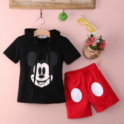 Baby Boy Cartoon Kleding 2017 Zomer Girls Kids Minnie Muiskleding Tops + Jurk Tutu Pants Outfit Kostuum